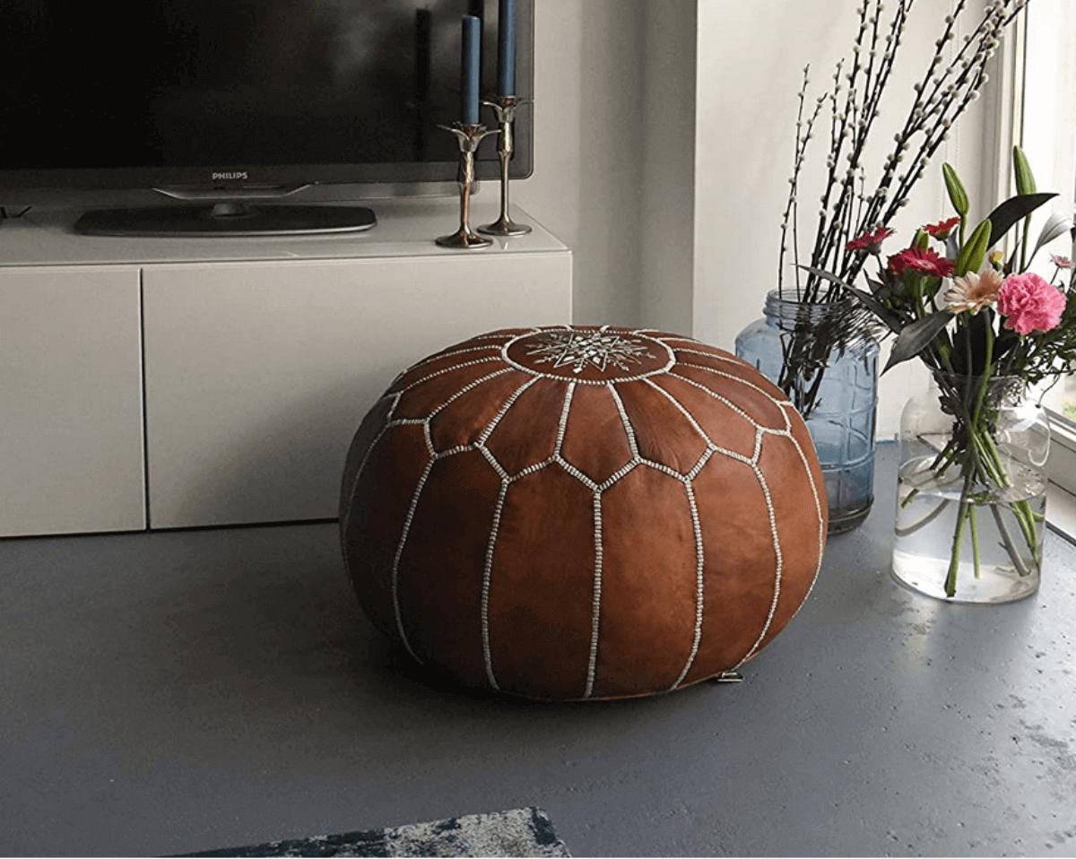 Tudo o que os pufes podem fazer pela sua decoração