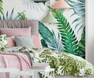 A decoração tropical chegou aos lares