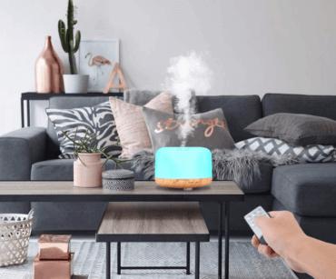 Os benefícios do uso do umidificador em casa