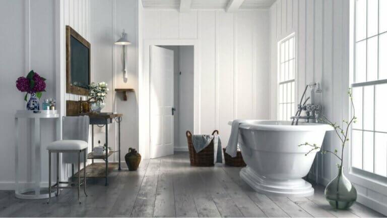 Este é o banheiro que você deve ter de acordo com as tendências
