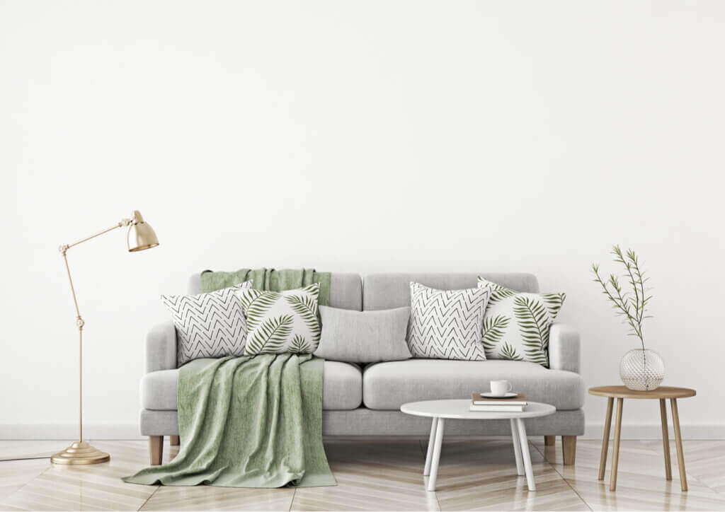 O uso do verde sálvia em casa