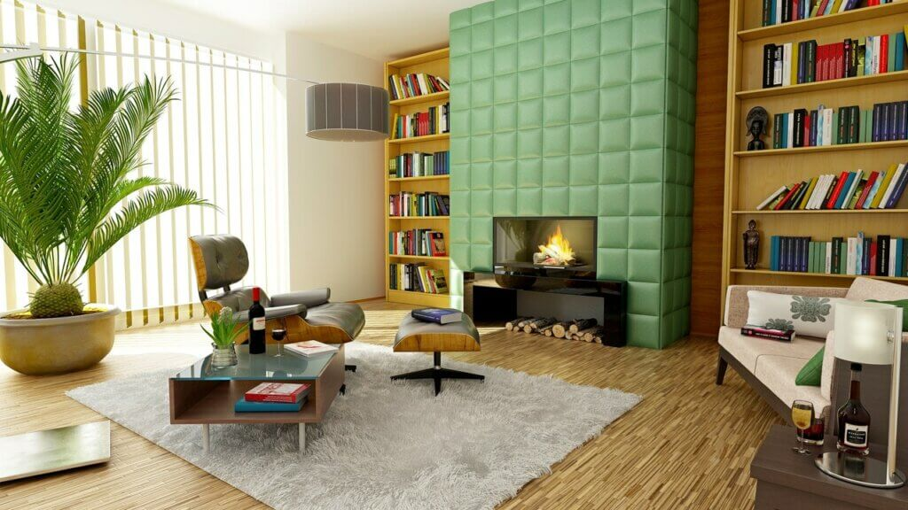 Tsundoku, a arte de decorar com livros