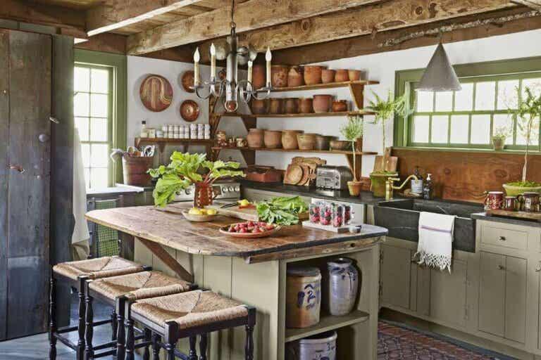 A cozinha estilo farmhouse: uma casa com personalidade
