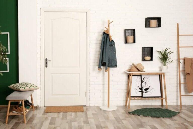 5 tipos de cabideiros verticais de parede