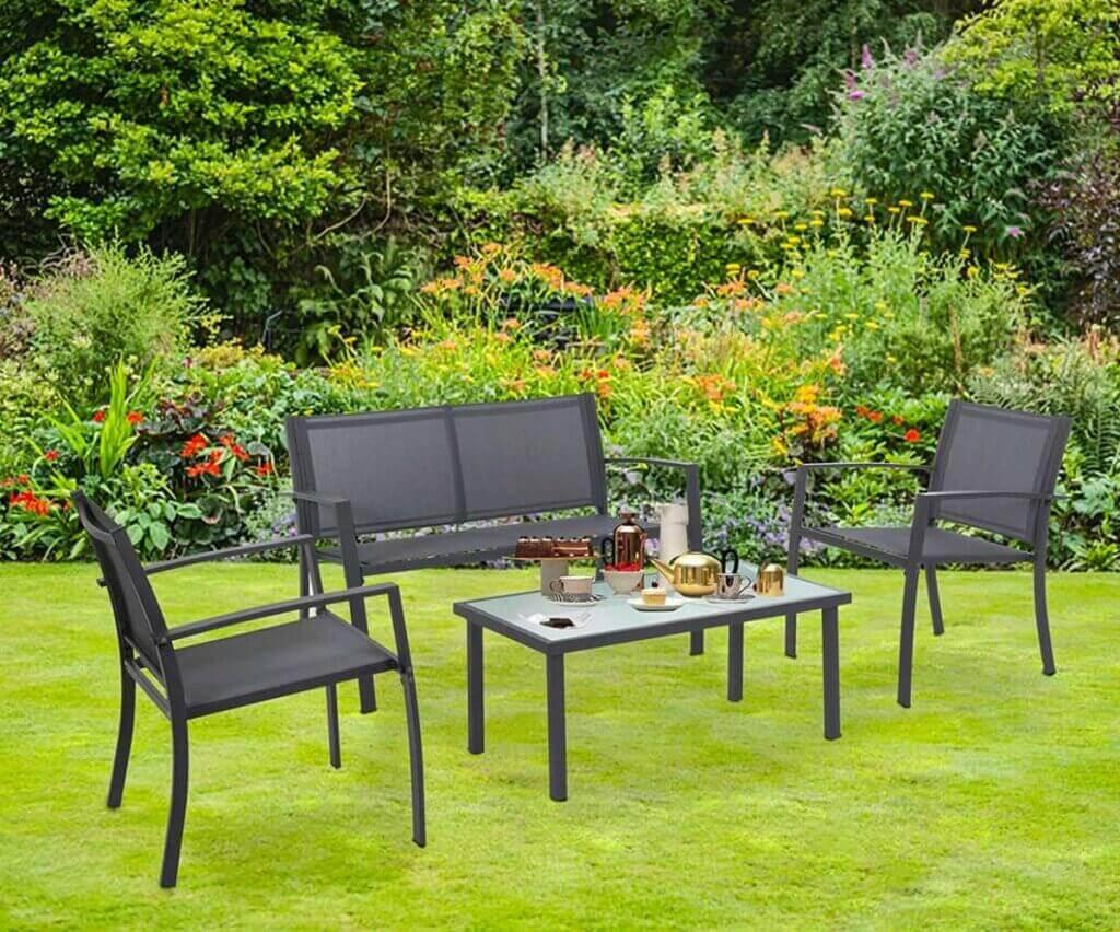 Cadeiras de textilene: conforto e durabilidade