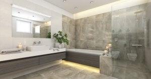 pratik bir banyo