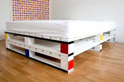 palet ve yatak
