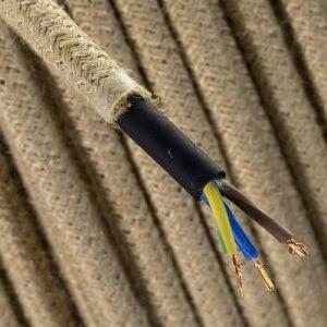 kopuk bir elektrik kablosu