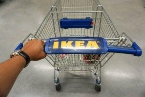 IKEA alışveriş arabası