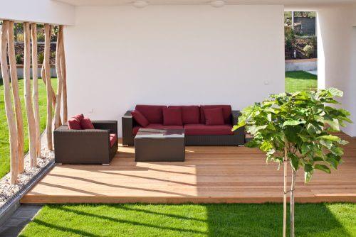 bahçeli veranda tasarımı