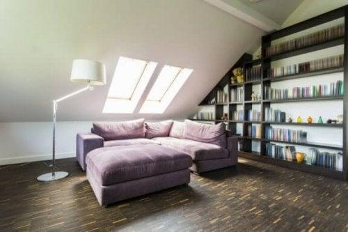 tavan arası okuma odası