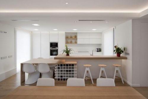 İpuçları: Açık Plan Mutfak Yaratmak
