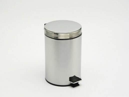 banyo için metal çöp kutusu