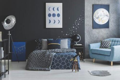 karamsar stilde dekorasyon renkleri