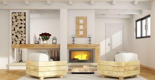 Rustik Oturma Odası: Nasıl Uygulanır?