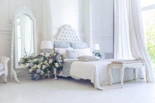 yatak odası ve dekorasyon için bir sözlük