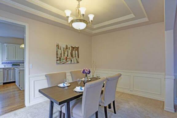 Yarım panel ahşappiyeri evinizin tüm odalarında kullanabilirsiniz.