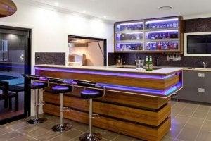 modern ev barı