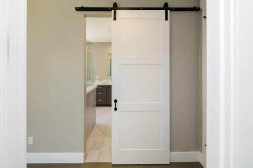 sürgülü banyo kapısı