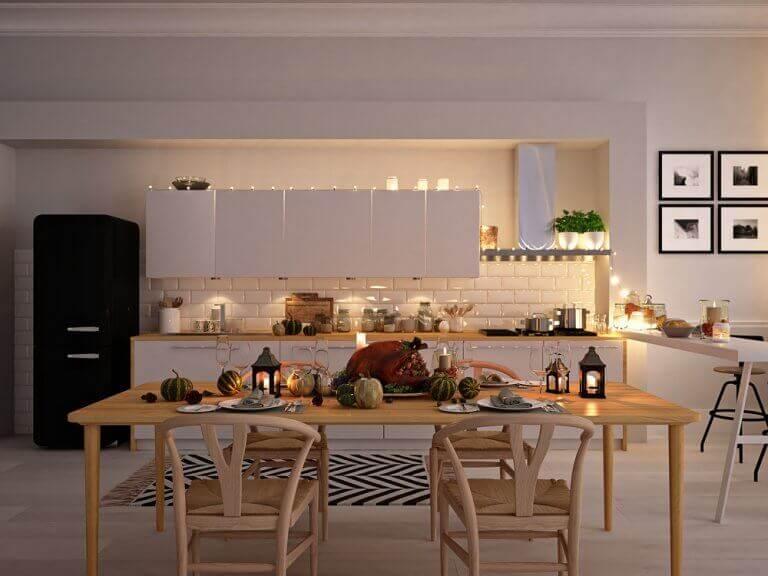 mutfakta rahat dekorasyon
