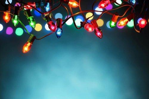Renkli Işıklar ile Alternatif Dekor