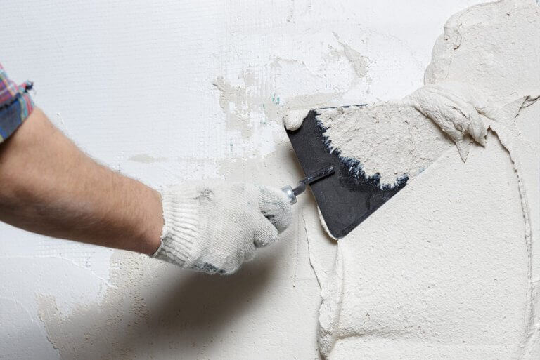 ev yenileme esnasında duvar sıvası