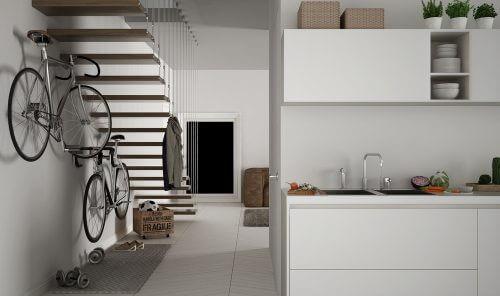 Merdivenler için farklı dekorasyon önerileri
