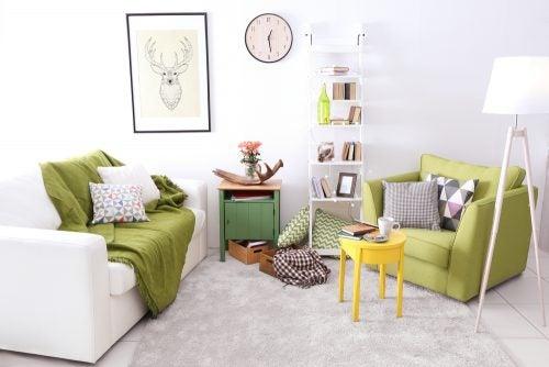 Samimi bir oturma odası yaratmak için öneriler