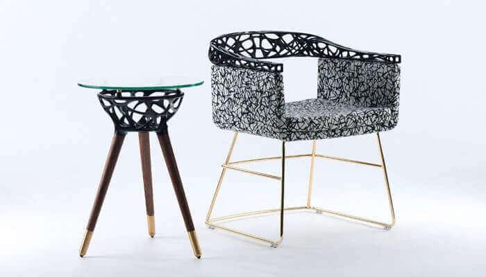 Rio tasarımı 3D baskı mobilya