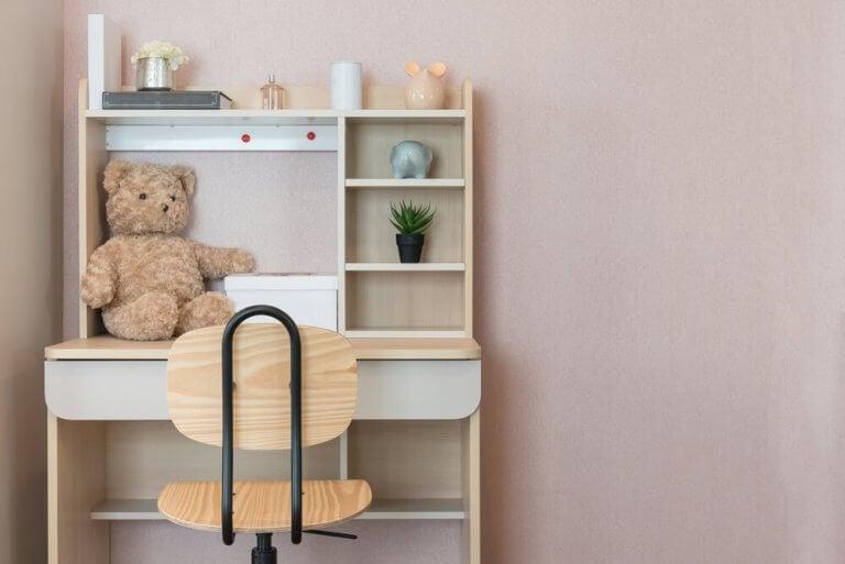 çocuk çalışma masası