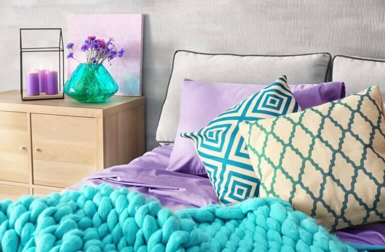 yatak üstü battaniye