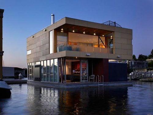 amerikadaki tekne evleri
