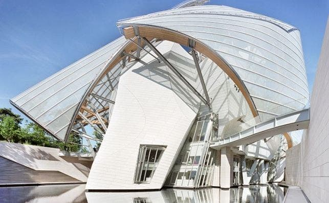 frank gehry tasarımı bina