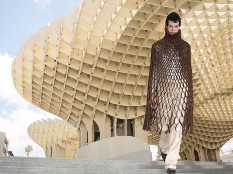 mimariden ilham alan moda