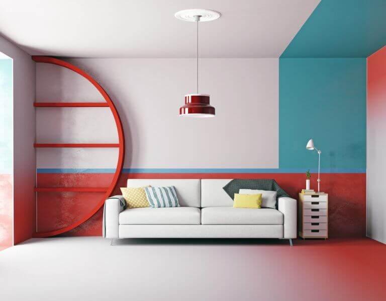 dekorasyonda renk kombinasyonu