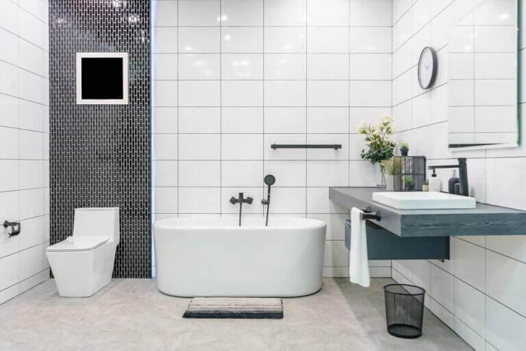 Banyo dekorasyon seçenekleri