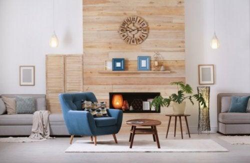 Dikeylik Yaratmak için Ev Eşyalarını Kullanma