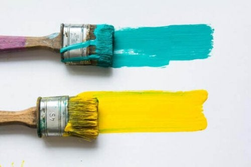 Sarı ve Turkuaz Renklerini Bir Arada Kullanmak