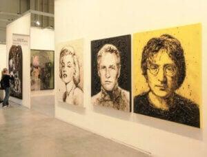 sanat galerisi tablolar aydınlatma