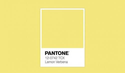 PANTONE 12-0742 Lemon Verbena