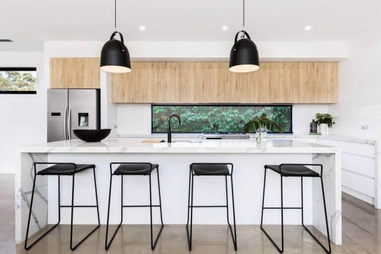 Ada mutfak için ışıklandırma seçenekleri