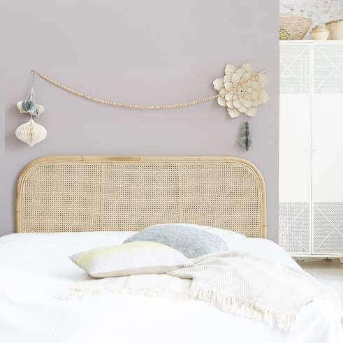 Hasır ağırlıklı yatak odası