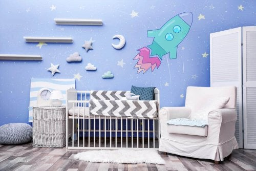 Çocuk Yatak Odaları İçin En İyi Vinil Çıkartmalar