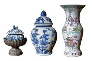 Çin vazolarına örnekler
