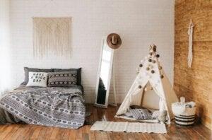 Güzel yatak odaları
