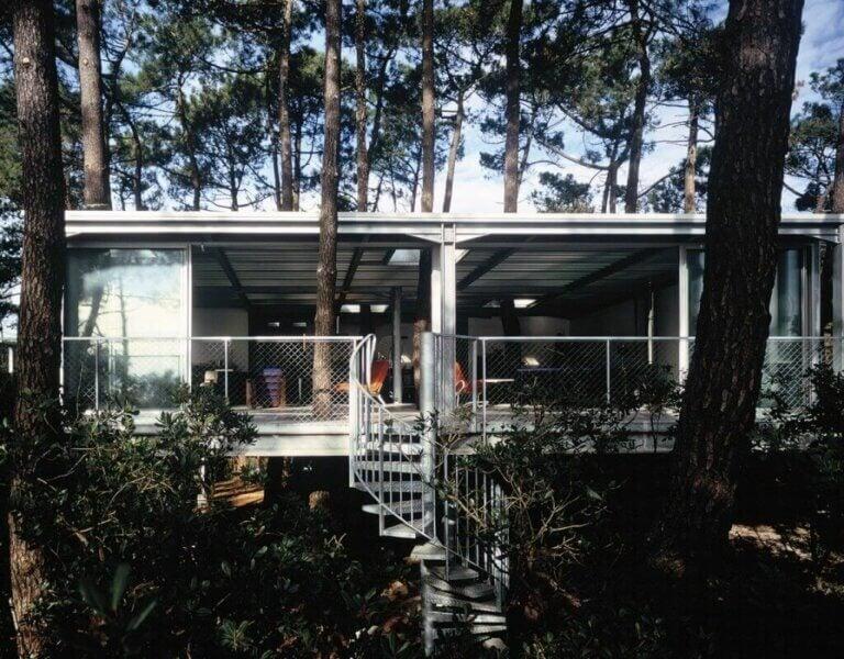 Cap Ferret Evi: İç Mekanda Doğanın Yeri