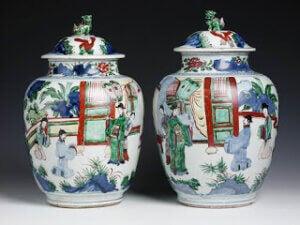 Qing ve Ming kraliyet vazoları