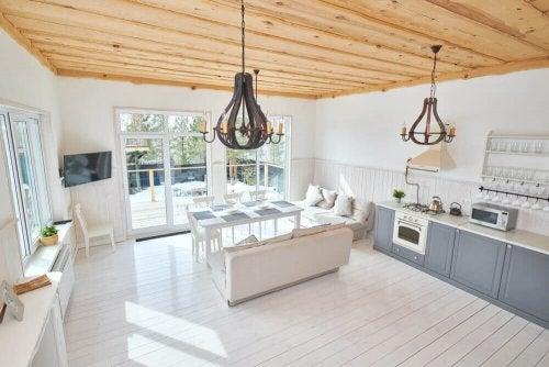 Tavan Tasarımı: Tavanları Ev Dekorunuzun Yıldızı Yapın