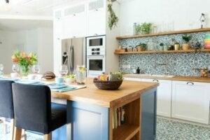 Akdeniz Tarzı Evler ve mutfakları