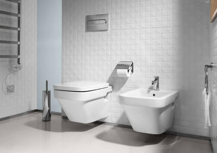 Klozet ve lavabo tasarımı